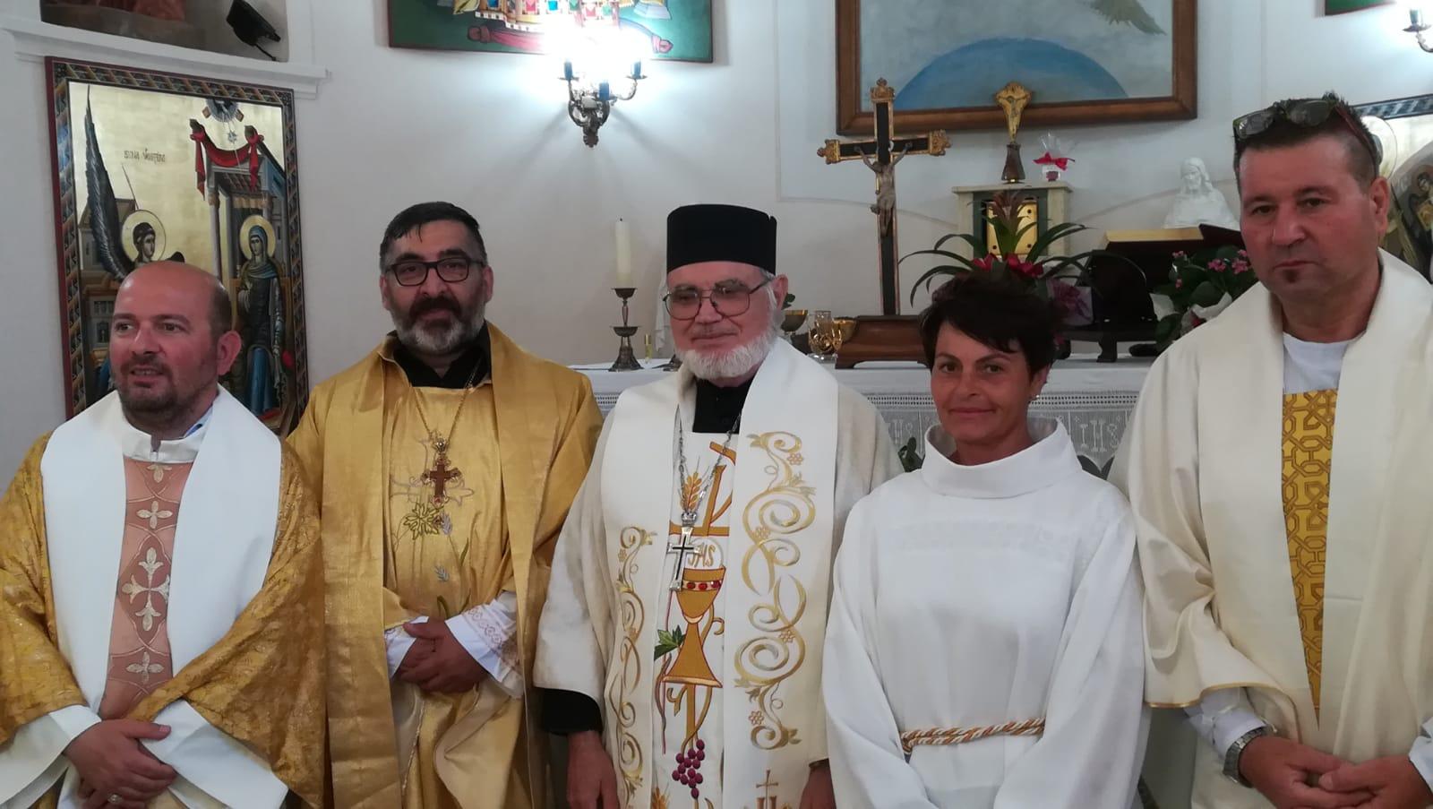 Consacrazione di tre sacerdoti
