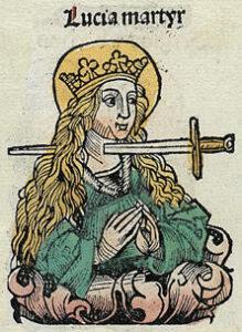 Santa e Gloriosa Martire Lucia da Siracusa